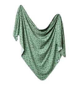 Copper Pearl Knit Blanket - Poe
