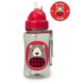 Skip Hop Winter Zoo Straw Bottle - Blakely Bear