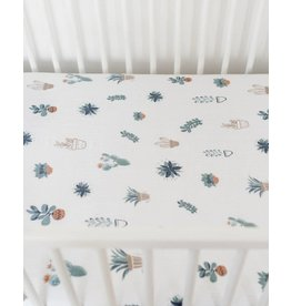 Little Unicorn Cotton Muslin Fitted Sheet - Prickle Pots