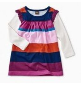 Tea Collection Layered Sleeve Baby Mighty Mini - Snapdragon