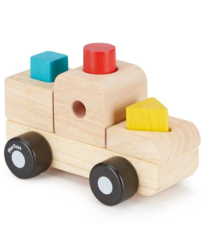 Plan Toys, Inc Sorting Puzzle Truck