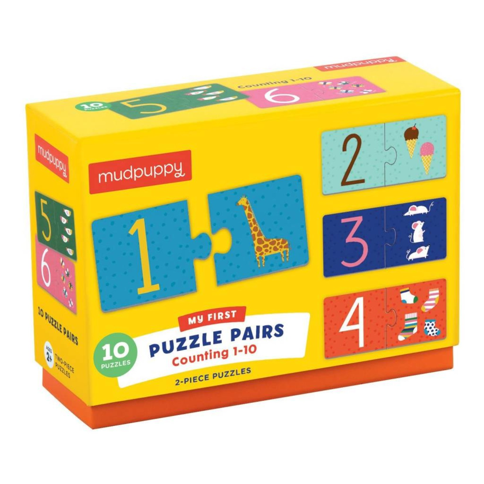 Chronicle Books Counting 1-10 My First Puzzle Pairs