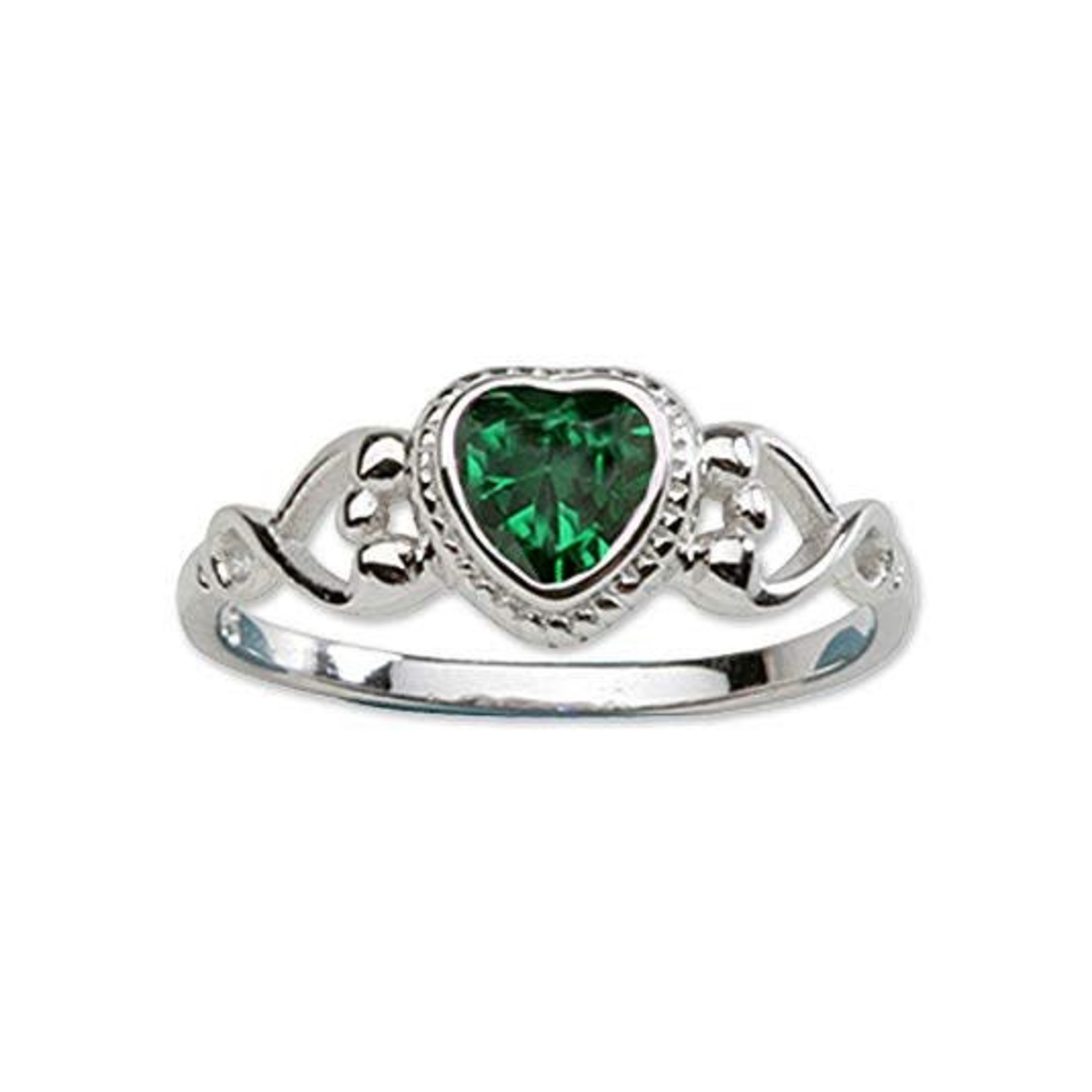 Cherished Moments Baby Ring Sterling Silver Birthstone - Size 03
