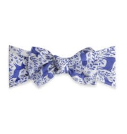 Baby Bling Bows Printed Knot - Deer Toille