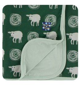 Kickee Pants Print Stroller Blanket - Topiary Tuscan Sheep