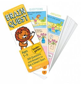 Workman Publishing Brain Quest: Ages 5-6 Kindergarten