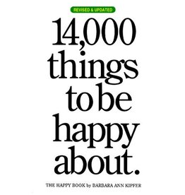 Workman Publishing 14,000 Things Be Happy 25th Anniversary Ed.