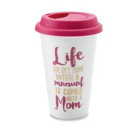 Mud Pie Mom Manual Travel Mug