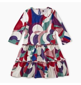 Tea Collection Tiered Winter Dress - Balla Floral 5
