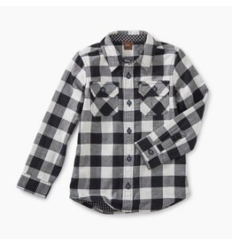Tea Collection Double Weave Shirt - Checkered  6