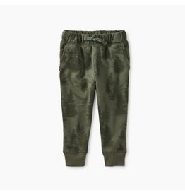 Tea Collection Patterned Baby Joggers - Walk in the Woods Camo 6-9M