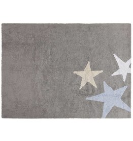 Lorena Canals Three Stars Grey - Blue