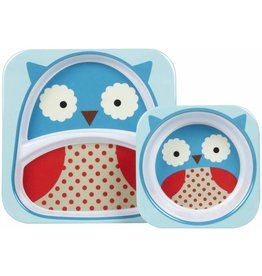 Skip Hop ZOO tableware - Owl Set