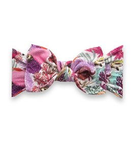 Baby Bling Bows Printed Knot - Under The Sea
