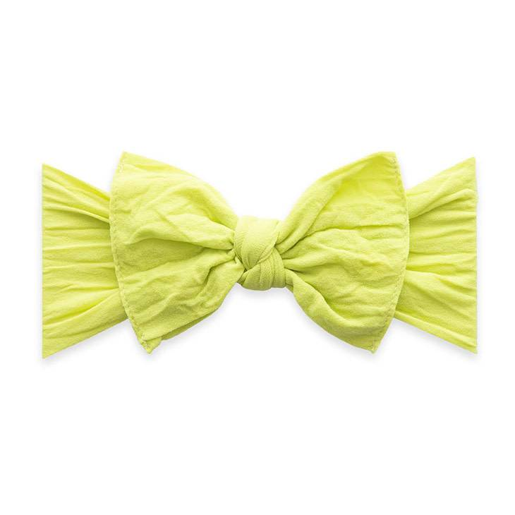 Baby Bling Bows Knot - Citron