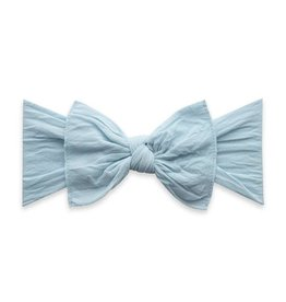 Baby Bling Bows Knot - Chambray