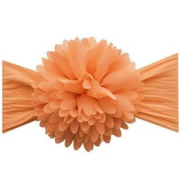 Baby Bling Bows Chiffon carnation flower: Peach