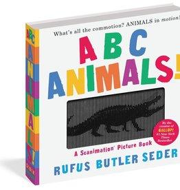 Workman Publishing ABC Animals Scanimation Book