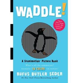 Workman Publishing Waddle Scanimation Book