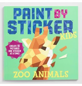 Paint by Stickers Kids Zoo Animals
