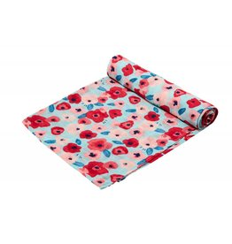 Angel Dear Bamboo Swaddle, Poppies