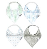 Copper Pearl Bibs - Jude Set - 4 pack