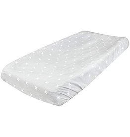 Copper Pearl Changing Pad Cover - Slate