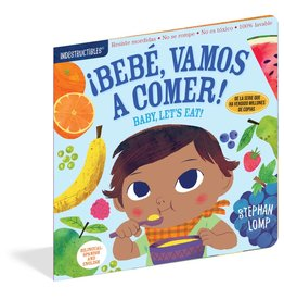 Workman Publishing Indestructibles: Baby, Let's Eat Spanish