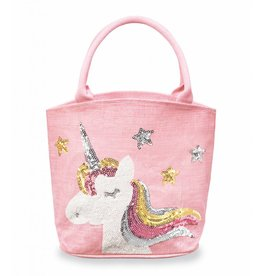 Mud Pie Unicorn Dazzle Tote