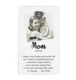 Mud Pie Mom Magnetic Frame