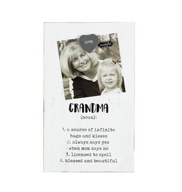 Mud Pie Grandma Magnetic Frame