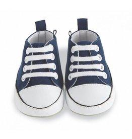 Mud Pie Blue Prewalker Shoe