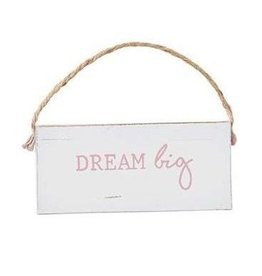 Mud Pie Dream Big Door Hanger