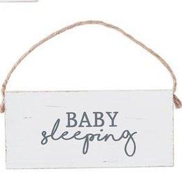 Mud Pie Baby Sleep Door Hanger