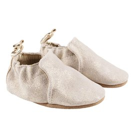 Robeez Pretty Pearl Soft Soles - Gold Shimmer
