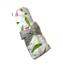 Angel Dear Muslin Swaddle, Sweet Pea Blossoms