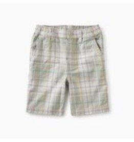 Tea Collection Plaid Travel Shorts - Tonkin Plaid