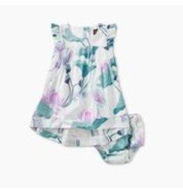Tea Collection Lotus Hi-Lo Baby Dress - Lotus