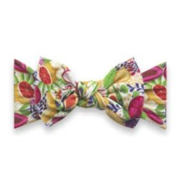 Baby Bling Bows Printed Knot - Avocado Fruit