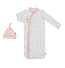 Magnetic Me Carousel Modal Sack Gown + Hat - NB-3m