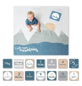 Lulujo Blanket and Memory Card Set, I Will Move Mountains