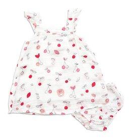 Angel Dear Sundress & Bloomer, Cherry O