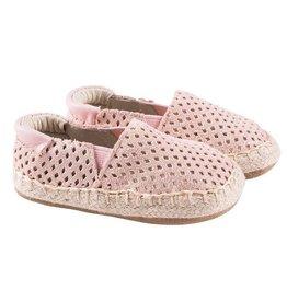 Robeez Ellie Espadrille Shoe - Pink Shimmer