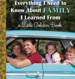 Penguin Random House (here) Everything I Need to Know About Family