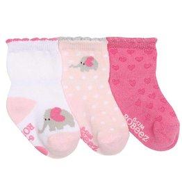 Robeez 3pk Socks - Little Peanut