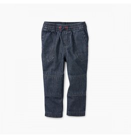 Tea Collection Explorer Baby Pants - Indigo Wash