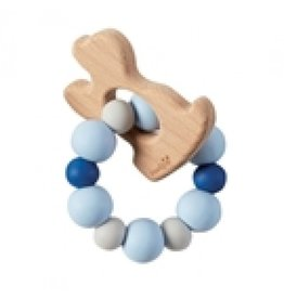 Mud Pie Teether Puppy Blue