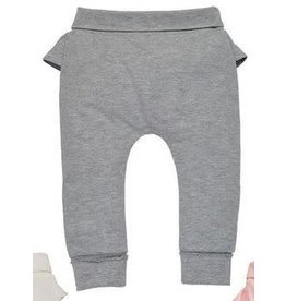 Mud Pie Infant Ruffle Pants Grey