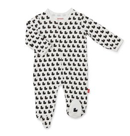 Magnetic Me Quack N Roll Organic Cotton Magnetic Footie