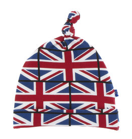 Kickee Pants Print Knot Hat Union Jack